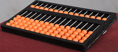 Braille abacus